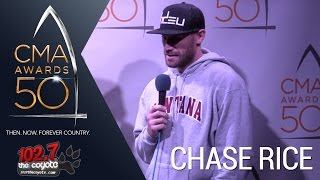 cma awards 50 chase rice on his upcoming 2017 album and his international shows