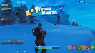 Fortnite PS4 Victoria With Random People
