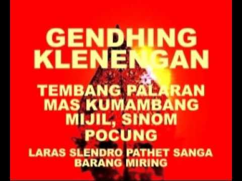 PALARAN MAS KUMAMBANG MIJIL SINOM POCUNG SL9