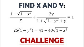 Challenge 70: Can You Solve This System of Equations?