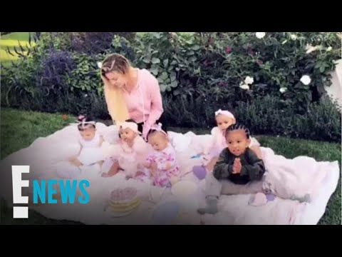 Khloé Kardashian's Daughter True Has Cupcake Party with Cousins   E! News
