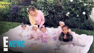 Khloé Kardashian's Daughter True Has Cupcake Party with Cousins | E! News
