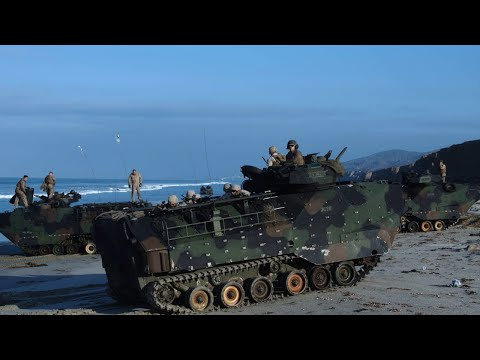 5 Marines in critical condition after Camp Pendleton training accident