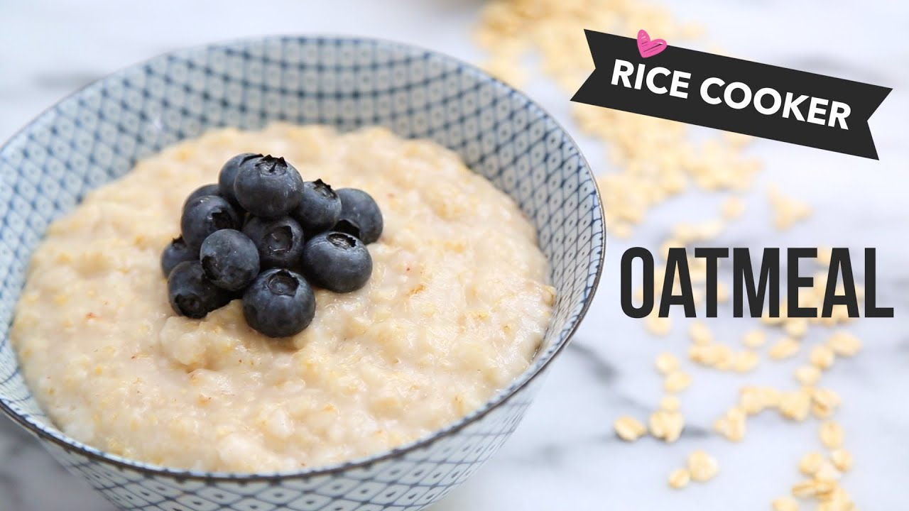 How to cook steel cut oats in a tiger rice cooker