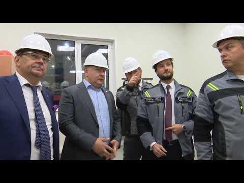 Михаил Токарев посетил предприятие с рабочим визитом