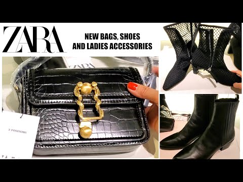 Zara New ladies Collections / Bags / Shoes and Accessories November 2019