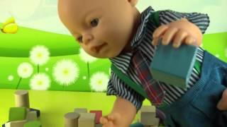 👍Развивающие мультики для детей. Лего мультики на русском языке. Игрушечный город(Развивающий мультик для самых маленьких детей. Малыш Бэби Борн строит игрушечный город. Этот мультик на..., 2016-02-29T13:12:57.000Z)