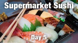 Supermarket Sushi & Osaka's Instant Ramen Museum