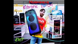 💥🔥Абсолютная новинка Eltronic 20-09 FireBox800. Басс тест режимы подсветки проверка микрофона📣🎶💥