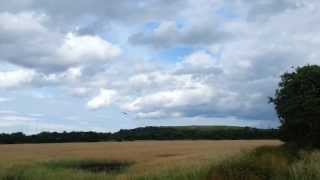 28/7/13 - Avro Vulcan XH558 over North East Aircraft Museum