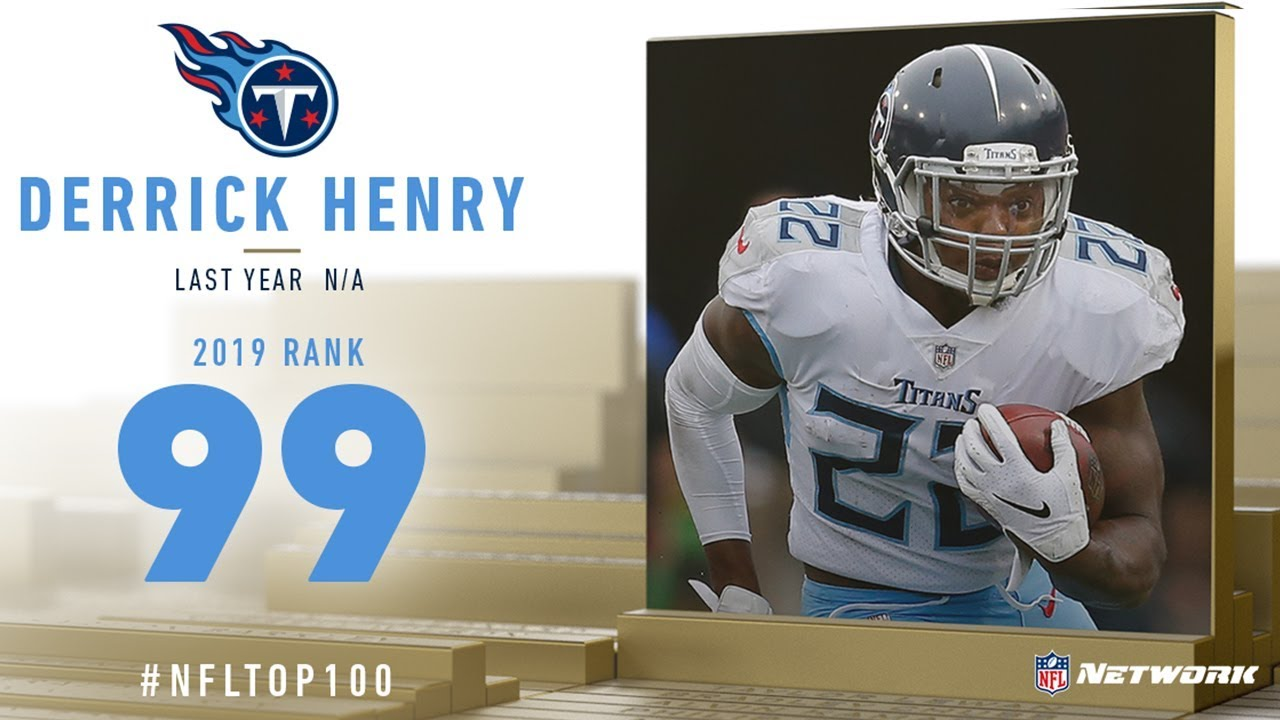 #99: Derrick Henry (RB, Titans) | Top 100 Players of 2019 | NFL