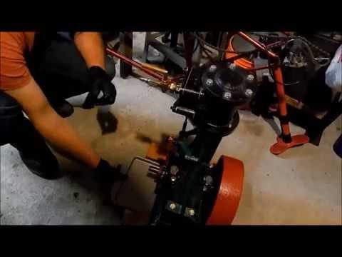 Stationary Steam Engine - First Start In 80 Years : Alt-Fuel Speed