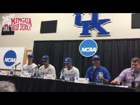 UK Baseball post win over Ohio in NCAA Tournament