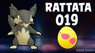 Alolan Rattata hatched - Generation 7 Pokedex 019 - Pokemon GO [No Hack]