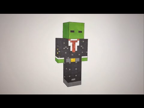 How To Draw A Minecraft Person Step By Step The Syndicate Project