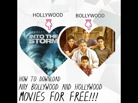 How to download any bollywood or hollywood movies for free