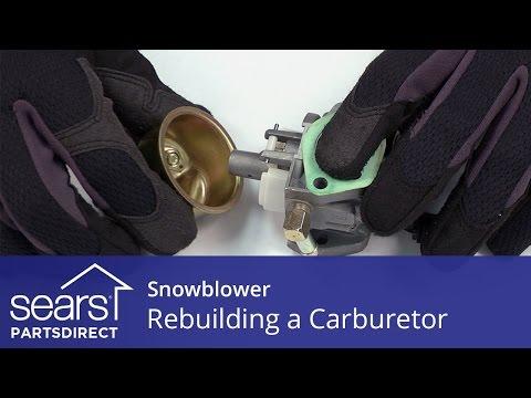 Rebuilding a Carburetor on a Snowblower