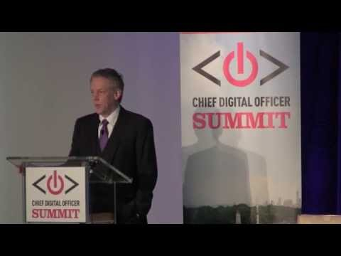 Chief Digital Officer Talent Map: David Mathison keynote at the CDO Summit (NYC April 2014)