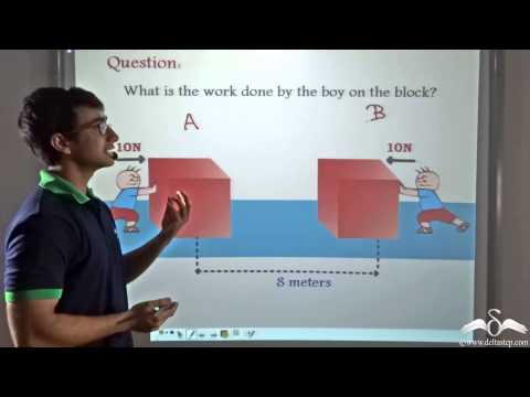 Examples positive work done physics
