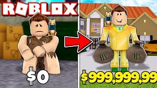 from poor to rich in ROBLOX!!! | War of 999,999 ROBUX