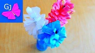 Оригами цветок Гиацинт из бумаги для Мамы