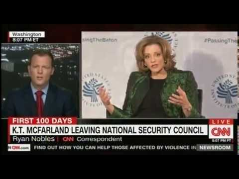 Trump WH shake up continues K T  McFarland leaves the National Security Council