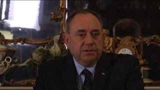 Ecosse: Alex Salmond va démissionner