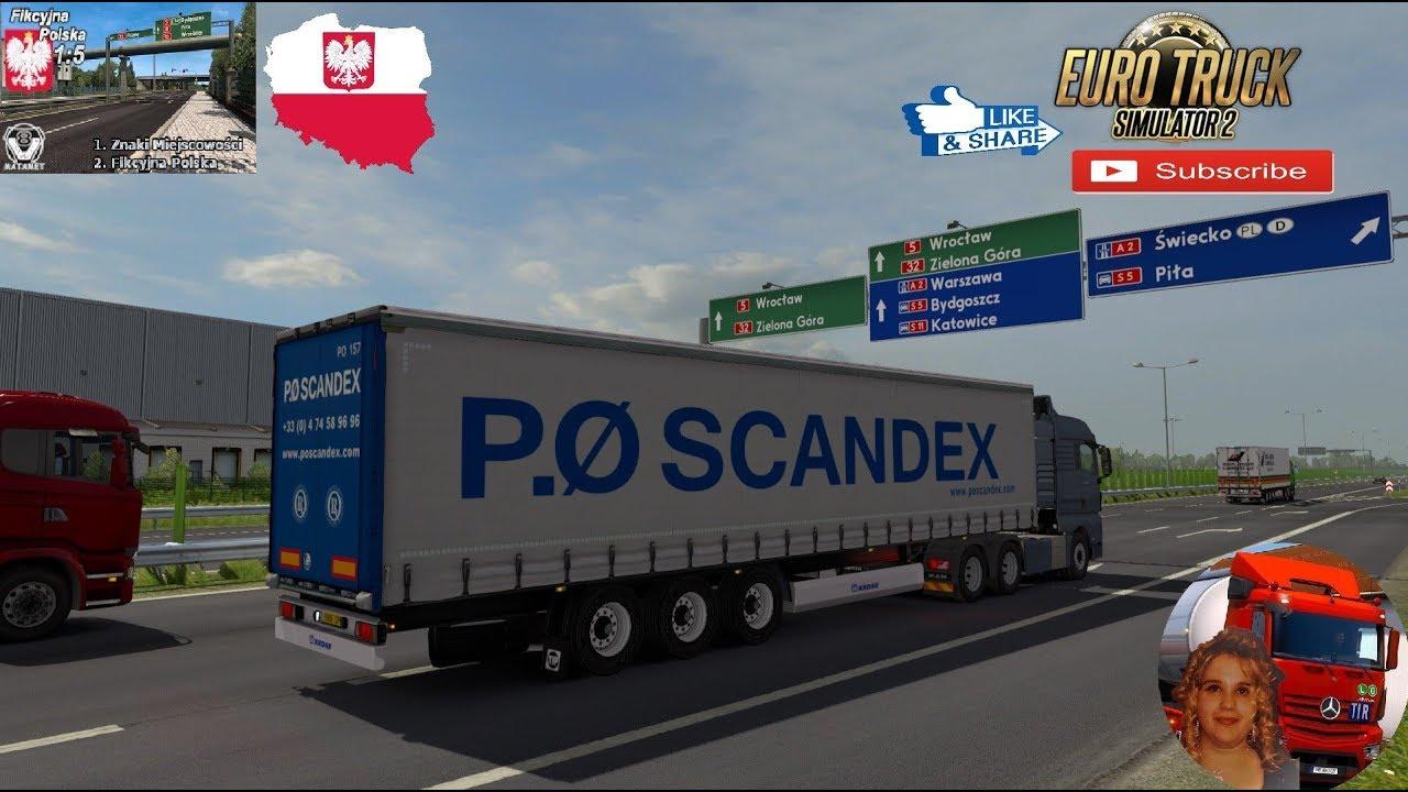 Fikcyjna Polska 1 5 V1 0 1 35 X Ets2 Mods Euro Truck Simulator