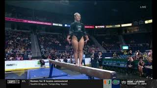 Katelyn Ohashi on Beam at the Aurora Games 2019