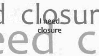 Gerald Levert - Closure (Lyrics)