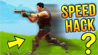 Speed Hack In Fortnite!? Build battle / Fortnite / Movement Modulator