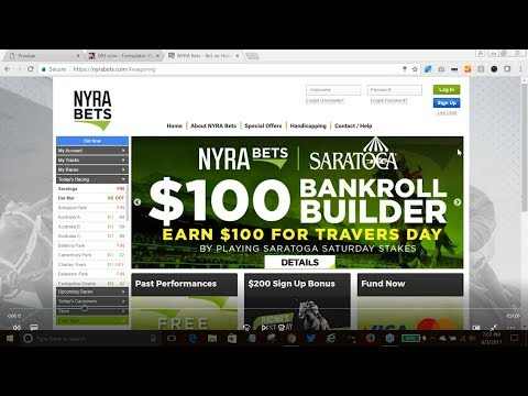 Whitney Day Handicapping Session Presented by NYRA Bets - YouTube