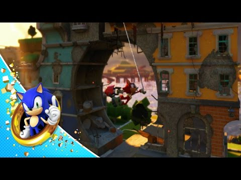 Sonic Forces - Park Avenue Hero Gameplay