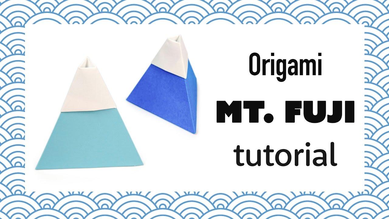 Origami Mount Fuji Tutorial - DIY - Paper Kawaii - YouTube - photo#19