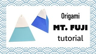 Origami Mount Fuji Tutorial - DIY - Paper Kawaii