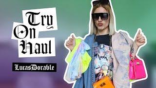 LUCASDORABLE // Try On Haul ( ça se dit comme ça ? en gros j'essaye mes nouveaux vêtements ) //