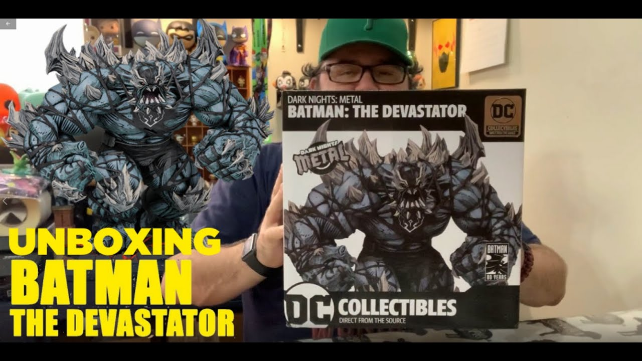 Dark Knights-métal Batman-The Devastator Statue