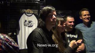 Ken Stringfellow & fans after Marky Ramone's Blitzkrieg show in Moscow, Yotaspace 7.06.2016 Mp3