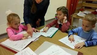 Урок английского языка для детей 3-5 лет, беспереводная методика, сказка The gingerbread man