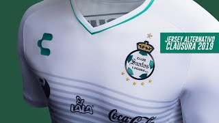 embeded bvideo Jersey Alternativo Club Santos - Clausura 2019 - Charly Futbol