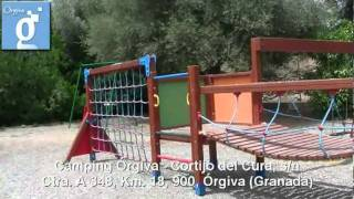 Camping Orgiva 05.mpg. Orgiva, Alpujarra, Granada, Andalucia, España, Guadalinfo