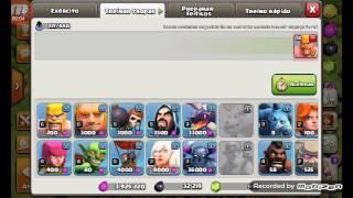 Novo bug do clash of clans por causa da atualização o bug está ajudando todos jogadores