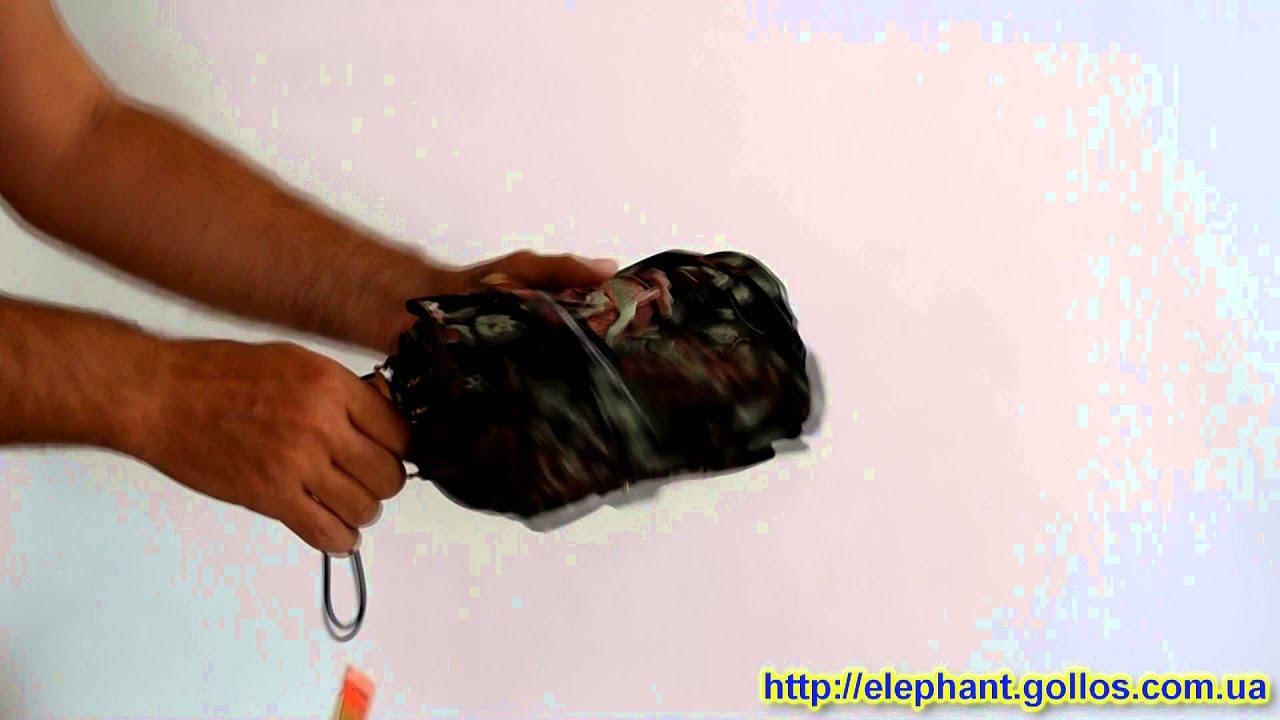 Женский зонт Три Слона (полный автомат) арт. 111-07 - YouTube