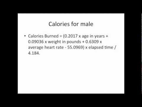 How To Calculate Calories Burned During Workout