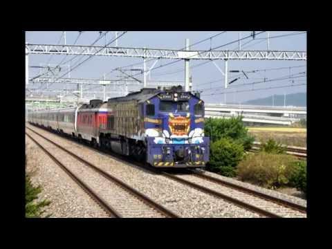 Some Korean train videos and photos