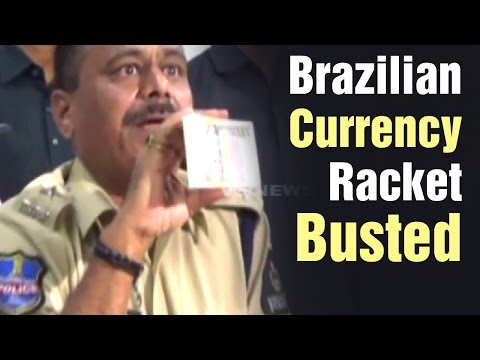 Brazilian currency racket busted by Task Force Police in Hyderabad (01-04-2015)