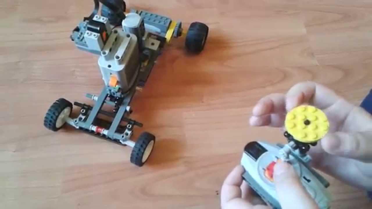 Lego Technic Zdalnie Sterowany Układ Kierowniczy Youtube