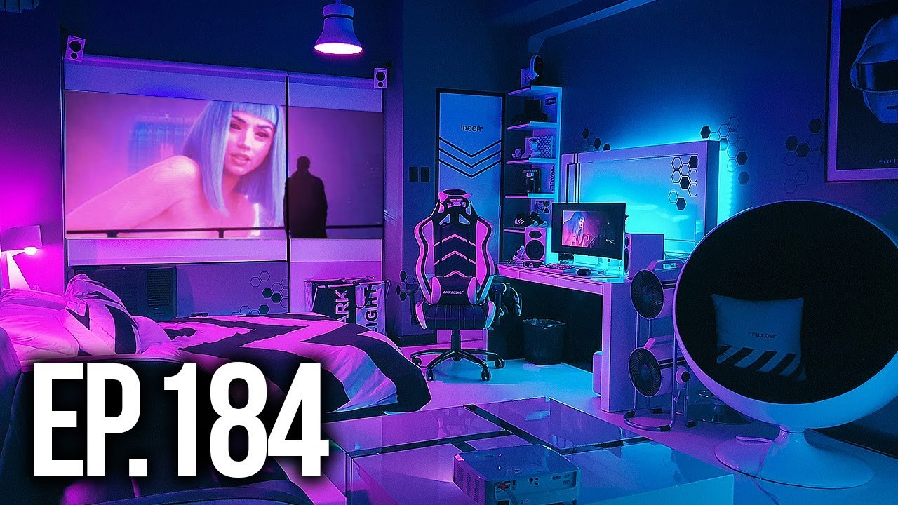 Room Tour Project 184 Best Gaming Setups Youtube