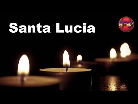 Santa Lucia (Luciasangen) m/tekst - Norske barnesanger | Julesanger