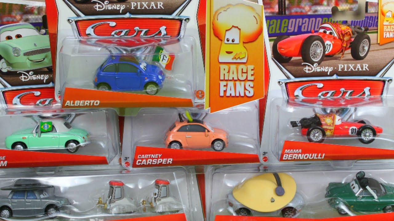 Disney Pixar Cars Race Fans Collection Series Mama Bernoulli